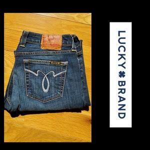 LUCKY BRAND Lola 10/30 EUC Straight Run Jeans